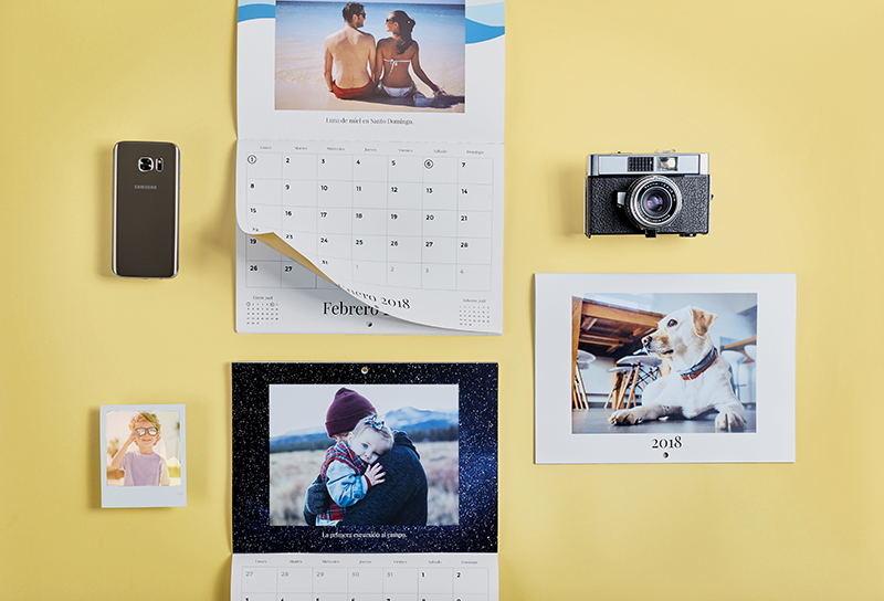 make your own calendar with photos