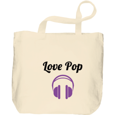 Compra Bolsas de tela con Love Pop: Headphones